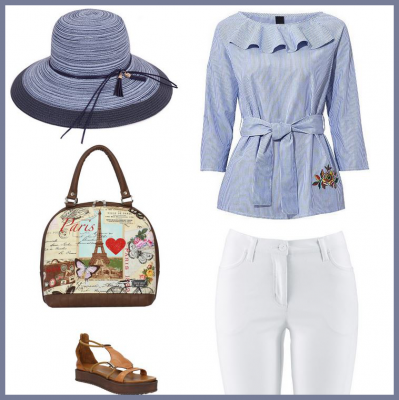 e1fcec19be81 Oblecenie pre moletky - letný outfit pre moletky - biele carpi nohavice pre  moletky
