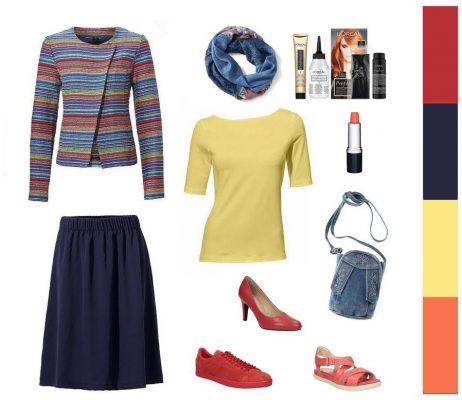 69d69c54868d Oblečenie pre moletky - outfit pre moletky - pásikavé sako