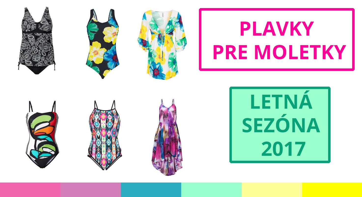 Bonprix - Plavky pre moletky, plážové šaty pre moletky - Letná sezóna 2017, Plážová sezóna 2017