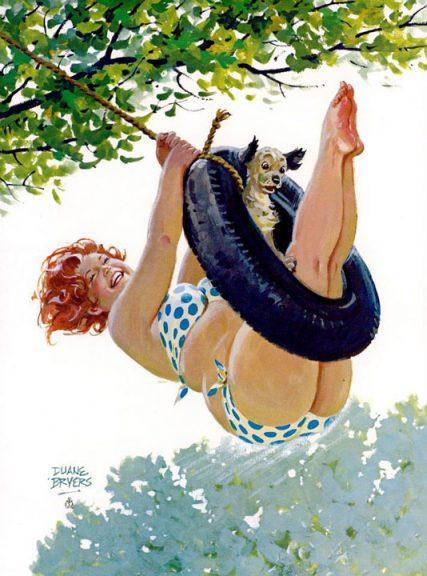 Bacuľka Hilda - plavky pre plnoštíhle ženy