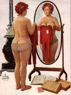 Pinup Hilda - cervený jumpsuit - Overal pre moletky