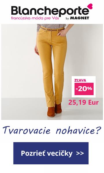 Tvarovacie nohavice blancheporte -zlavy januar 2018 moletky