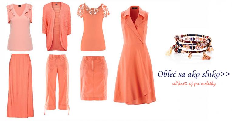 d702f48966e3 Oranžové letné oblečenie pre moletky