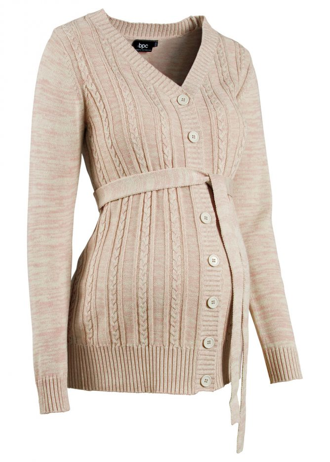 Tehotenský pletený sveter