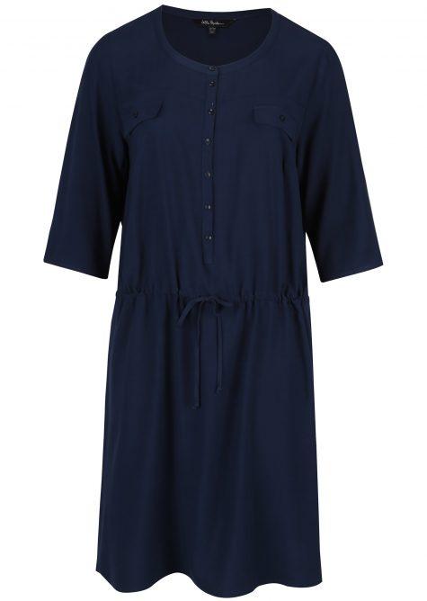 ŽENY   Šaty   šaty na denné nosenie - Modré košeľové šaty Ulla Popken