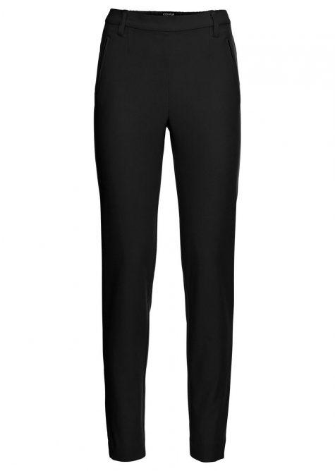 Biznis nohavice s elastickým lemom  - Formálne nohavice pre mletky