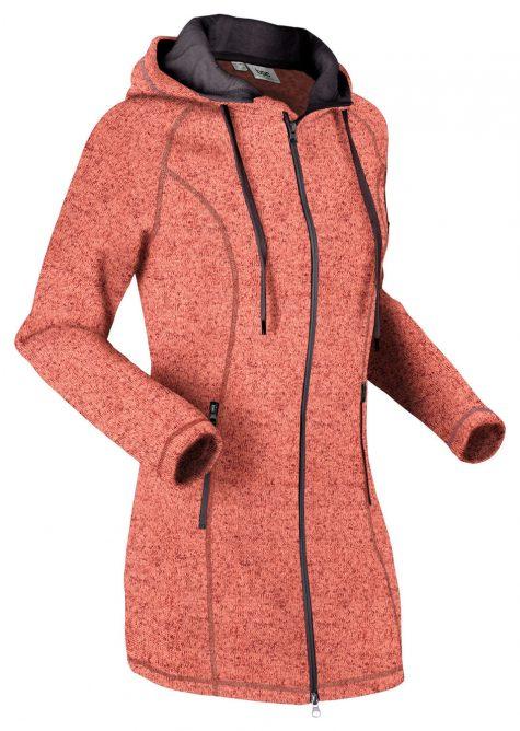 Flísový dlhý sveter
