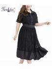 čipkové vintage šaty pre moletky