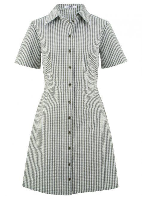 Košeľovo-blúzkové šaty