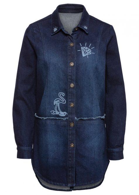 Oversize džínsová bunda