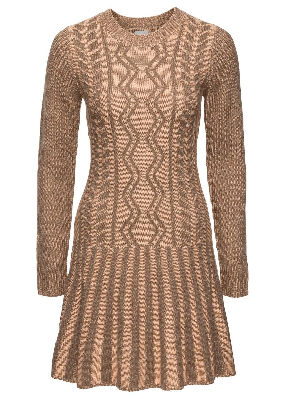 3921782a3f7c Pletené šaty pre moletky na chladné dni do práce - sú teplučké a ...