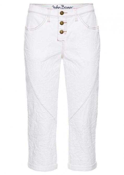Strečové džínsy capri