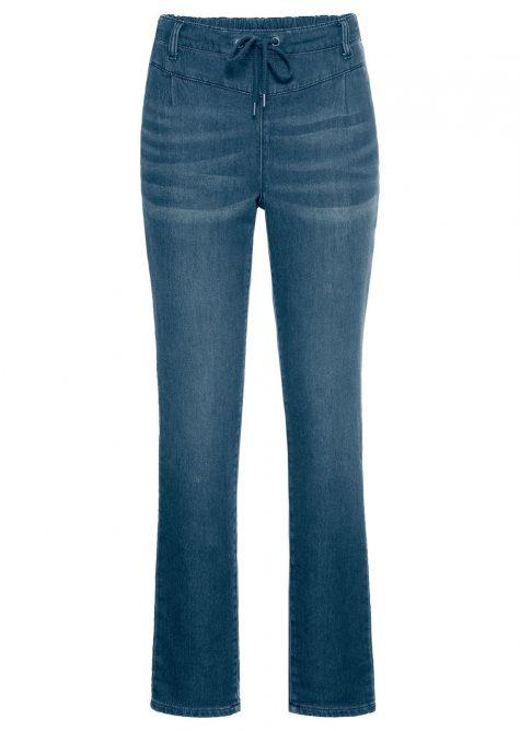 Strečové džínsy JOGGER  Strečové nohavice pre moletky - lepšie sa prispôsobia postave.