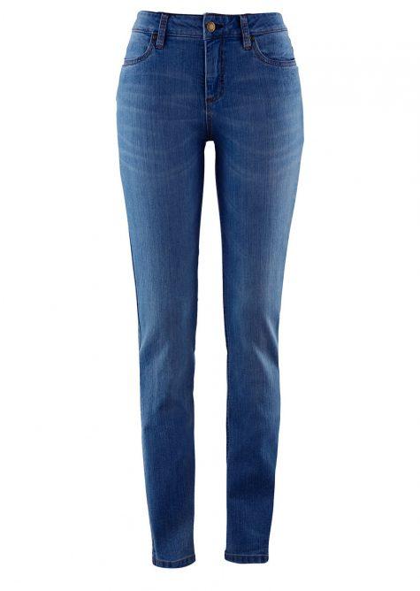 Strečové džínsy SKINNY  Strečové nohavice pre moletky - lepšie sa prispôsobia postave.