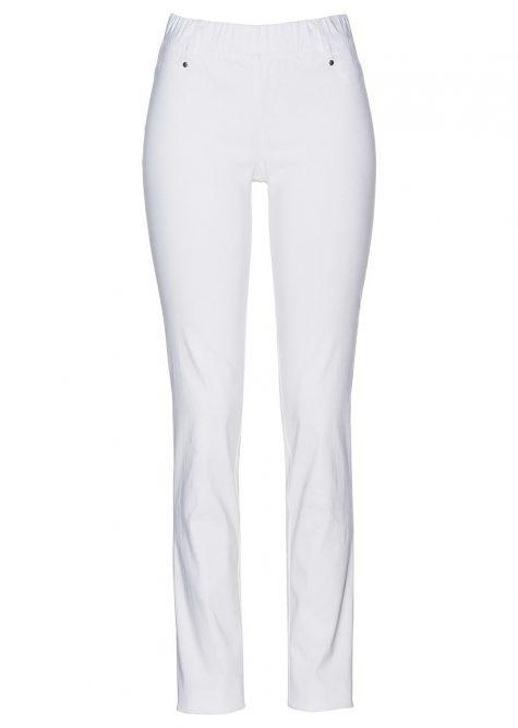 Strečové nohavice v pohodlnom strihu  Strečové nohavice pre moletky - lepšie sa prispôsobia postave.