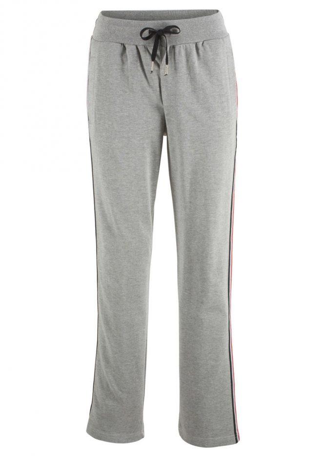 Teplákové nohavice s bočnými pásikmi