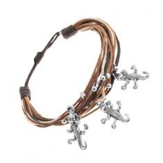 Šperky eshop - Náramok zo šnúrok