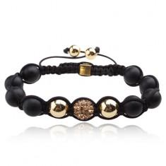 Šperky eshop - Shamballa náramok