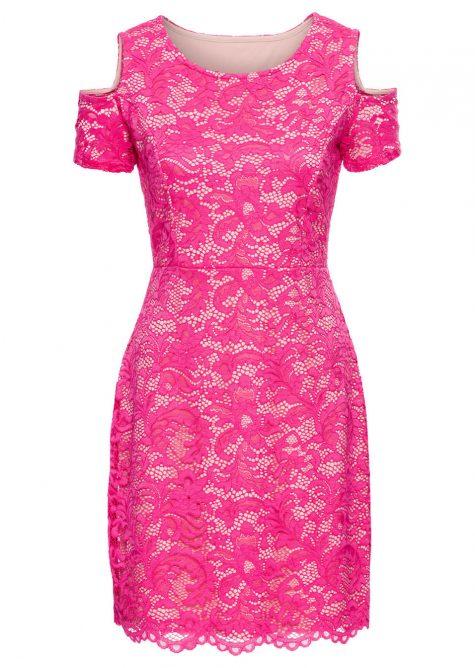 # Čipkované šaty pre moletky