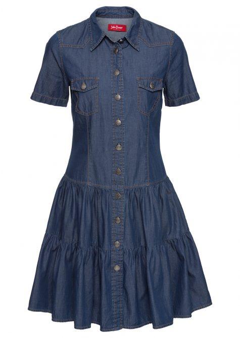 # Rifľové šaty pre moletky