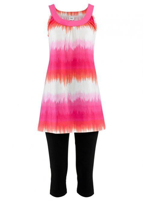 Šaty + capri-legíny (2-dielna sada)