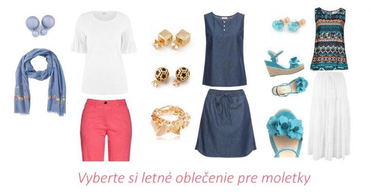 letné oblečenie pre moletky, letné oblečenie pre plnoštíhle, letné šaty pre moletky, letné šaty pre plnoštíhle
