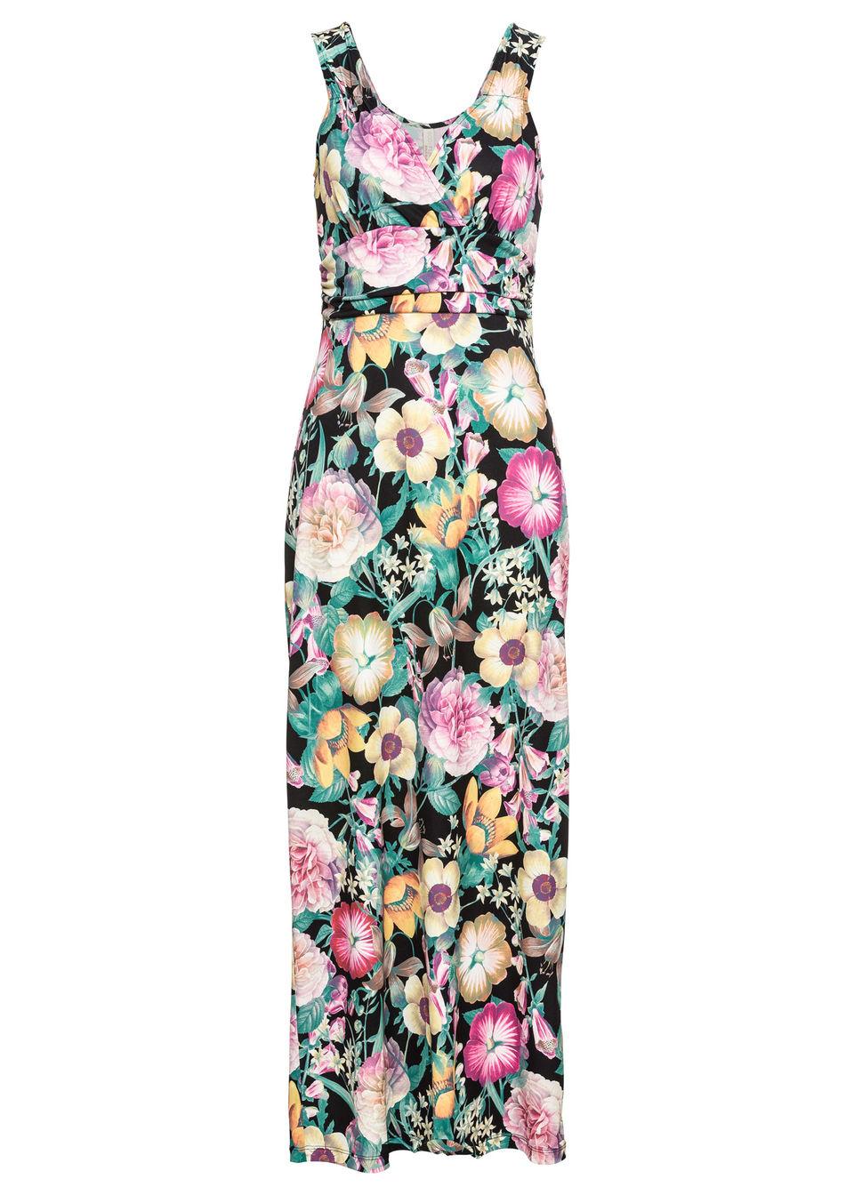 Letné šaty s kvetovanou potlačou 8746e721e3e