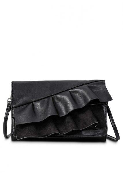čierna kabelka, malá čierna kabelka, čierna crossbody