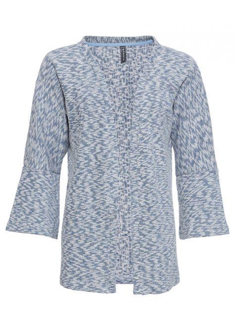Pletený sveter so širokými rukávmi