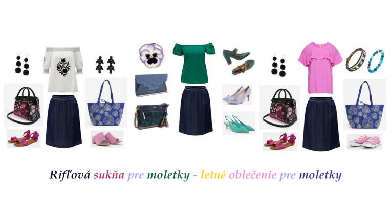 rifľová sukňa pre moletky, midi sukňa pre moletky, letné oblečenie pre moletky, letné oblečenie pre plnoštíhle