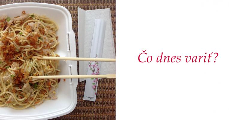 Vietnaské rezance s kuracím mäsom