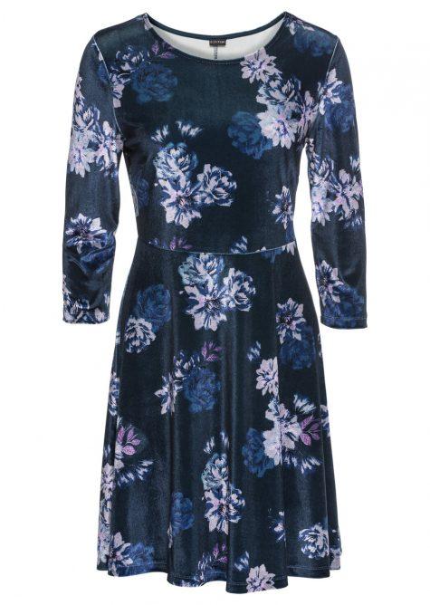 # Zamatové šaty pre moletky