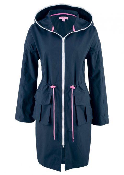Nepodšívaná bunda parka - dizajn Maite Kelly