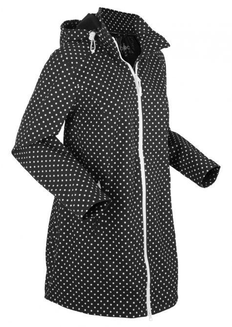 Strečová softshellová dlhá bunda