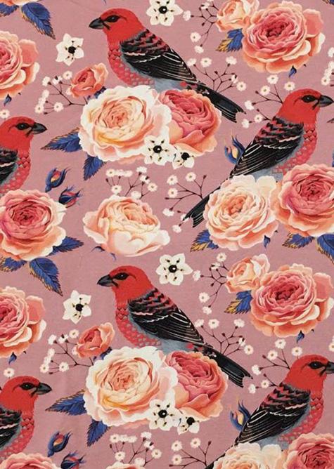ε Metráž: Úplety na tričká pre moletky