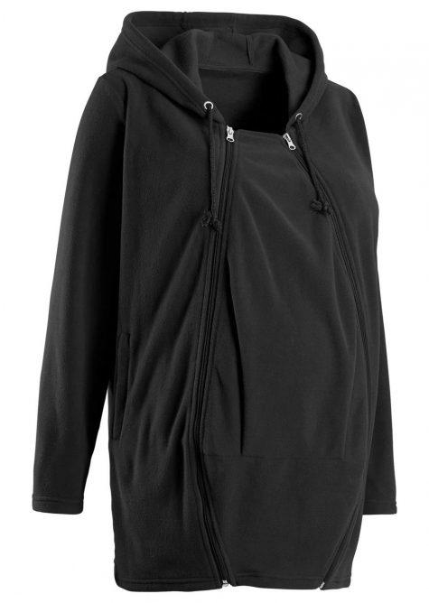 Tehotenská flísová bunda/bunda na nosenie