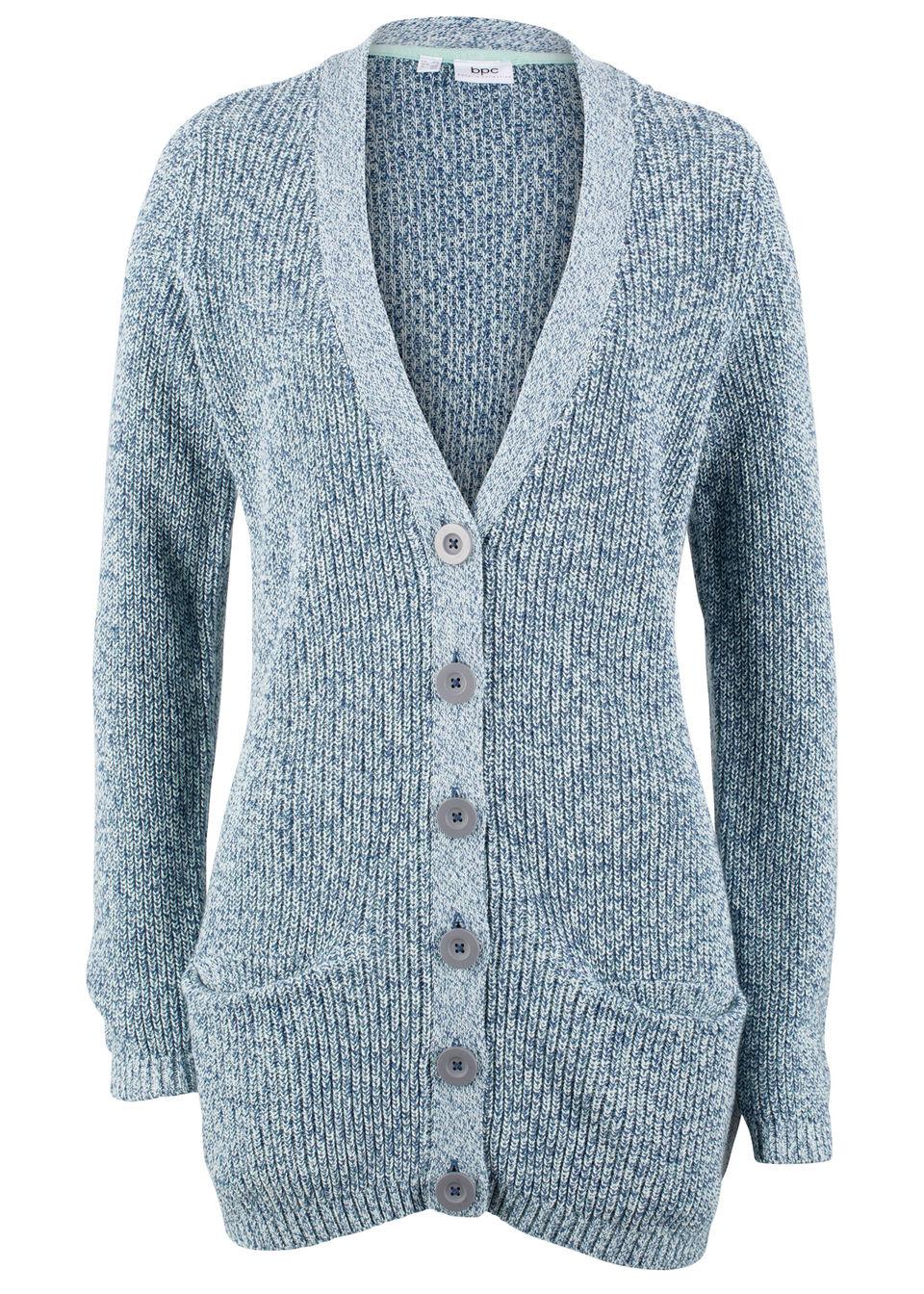 dfec48c3cb09 Pletený sveter s vreckami
