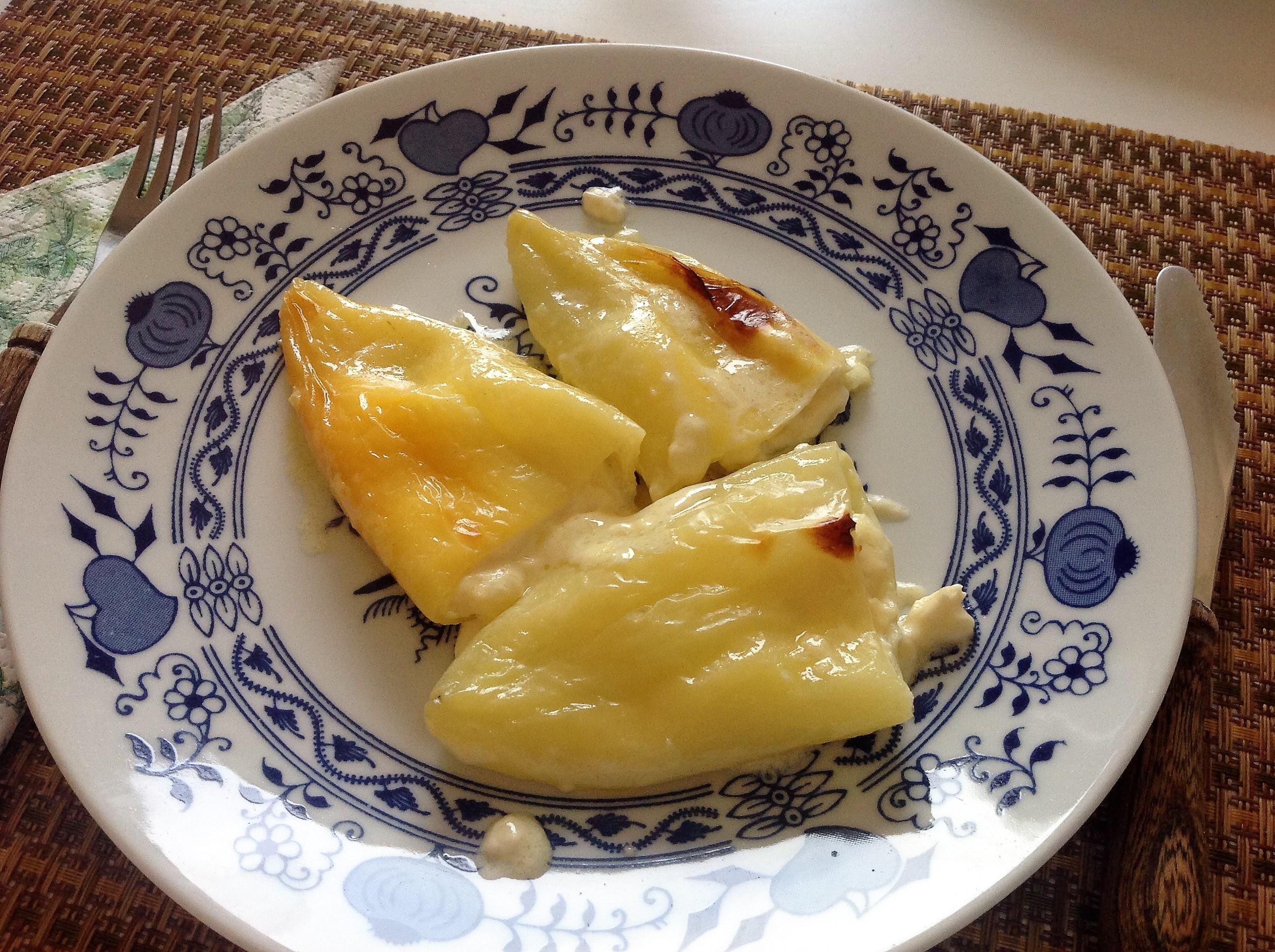 čo dnes variť, zapekaná paprika so syrom