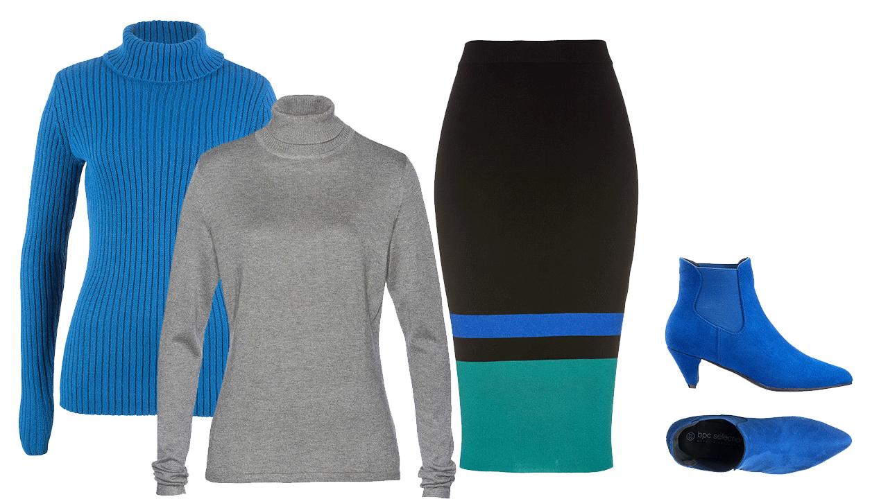 roláky pre moletky, jesenné oblečenie pre moletky, móda pre moletky, šaty pre moletky, jesenné šaty pre moletky, móda pre plnoštíhle