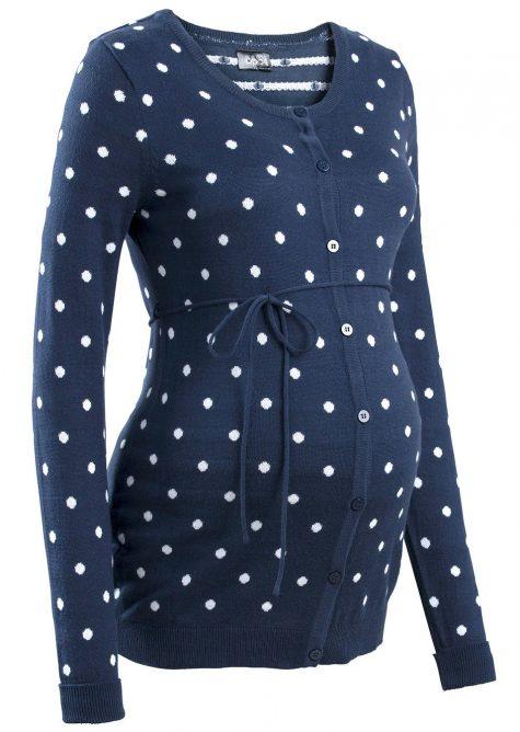 Materský sveter s bodkami