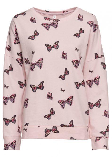 Mikina s motýľmi