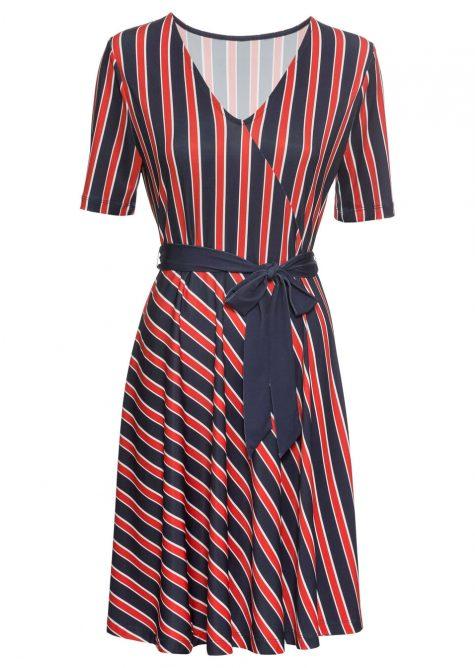 Pásikované šaty