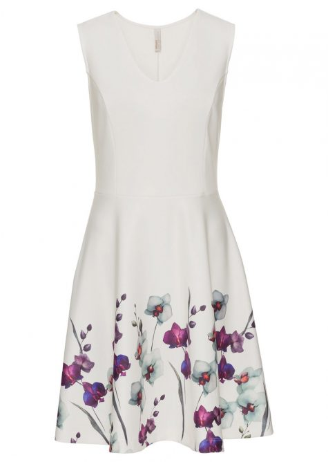 1864c009d7 Šaty s kvetovanou potlačou