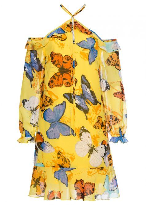 Šaty s volánikmi