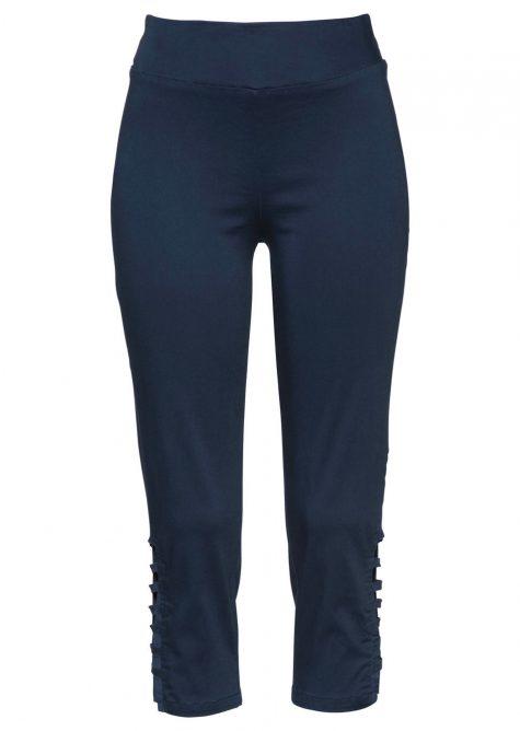 Strečové nohavice 3/4  Strečové nohavice pre moletky - lepšie sa prispôsobia postave.