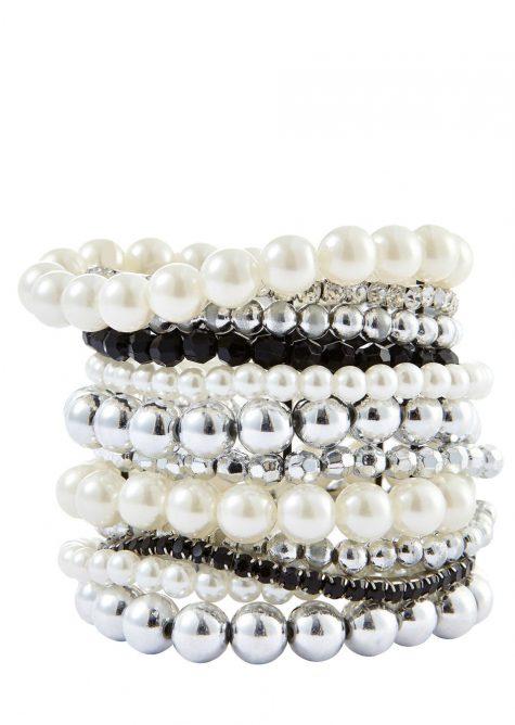 Náramková sada Perla  Šaty s perličkami