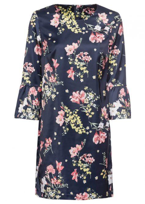 Kvetované letné šaty