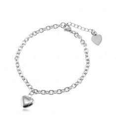 Šperky eshop - Náramok z chirurgickej ocele z oválnych očiek