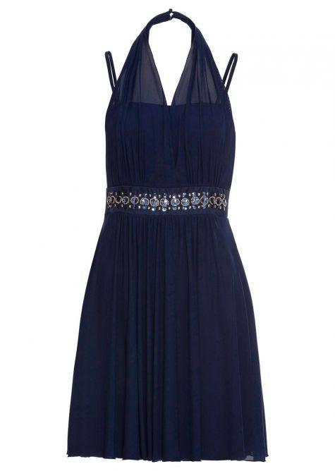 Šaty so štrasovou aplikáciou