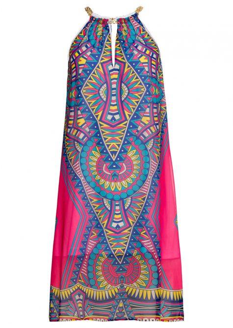 Šaty so vzorom